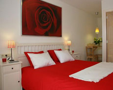 Inpetto bed and breakfast amsterdam elidesc - Deco kamer rood badpak ...