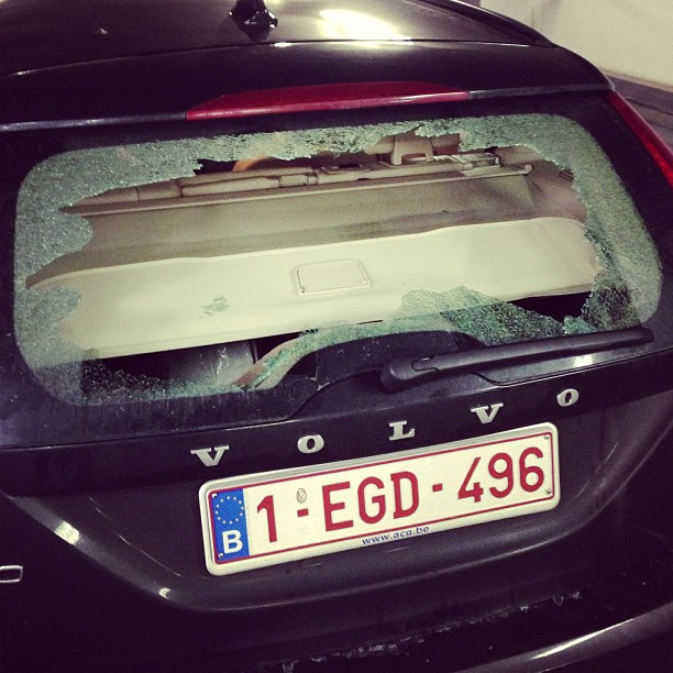 auto broken glass