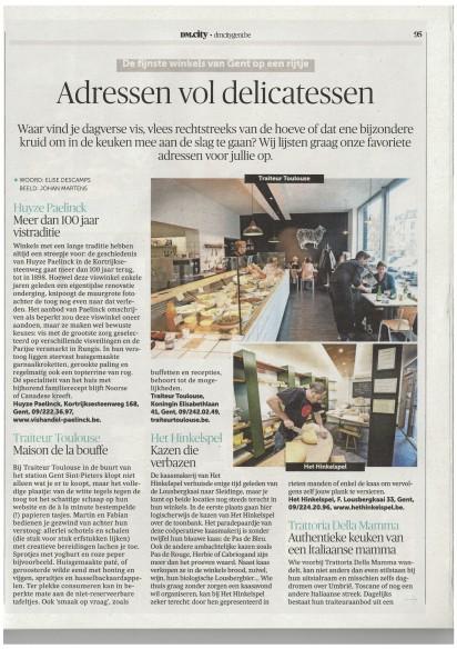 DM City Gent restogids - Adressen delicatessen 1